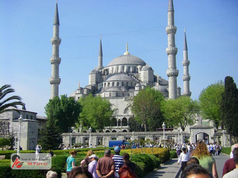 مسجد سلطان احمد استانبول (4)