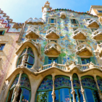 خانه ی کاسا باتلو اسپانیا (2)