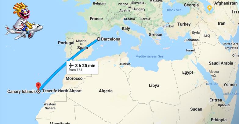 جزایر قناری اسپانیا