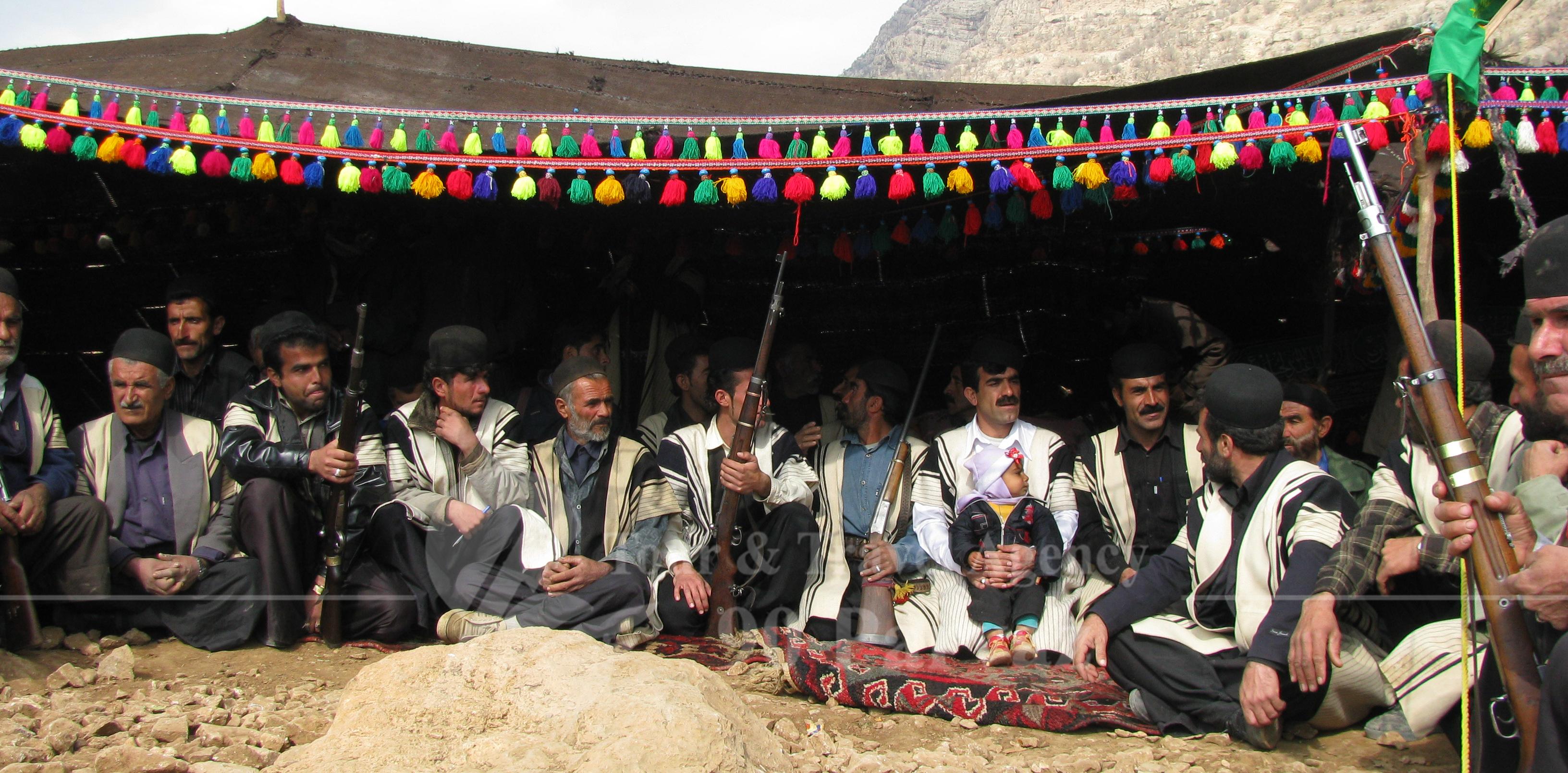 Iran attractions Bakhtiari Traditional dress