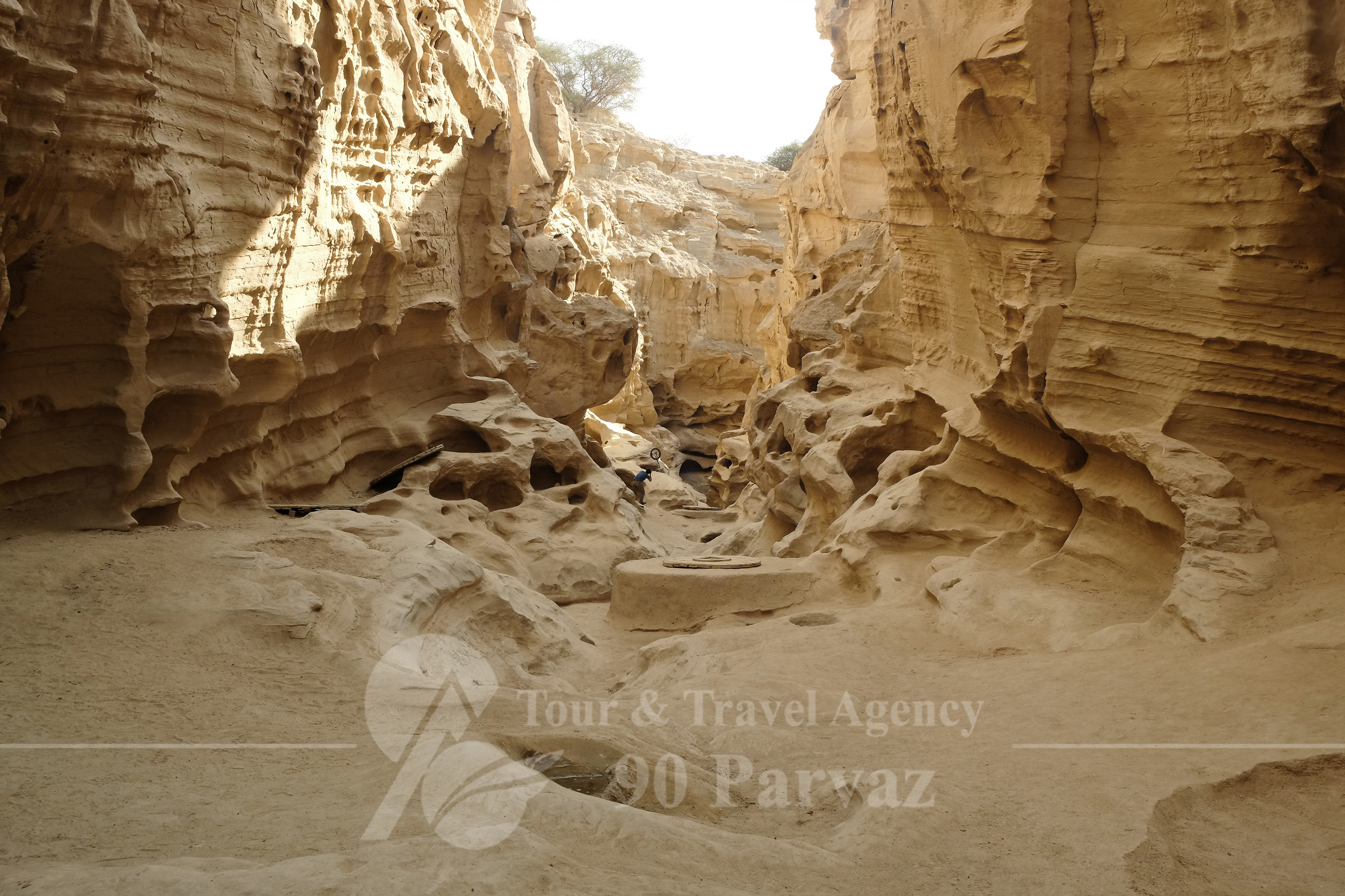 Iran attractions Qeshm Chahkooh Canyon (1)